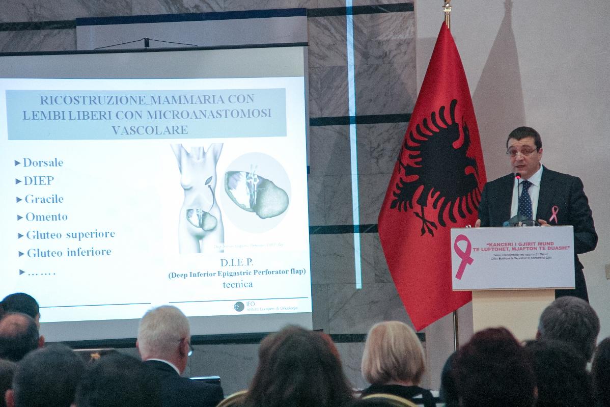 1 FOTO TIRANA ALBANIA GIORNATA MONDIALE PREVENZIONE TUMORI 2013 ORGANIZZATO DALLO STATO ALBANESE